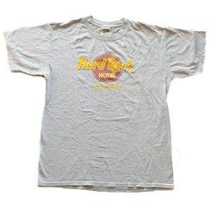 Vintage Hard Rock Hotel Las Vegas Gray T-Shirt - M